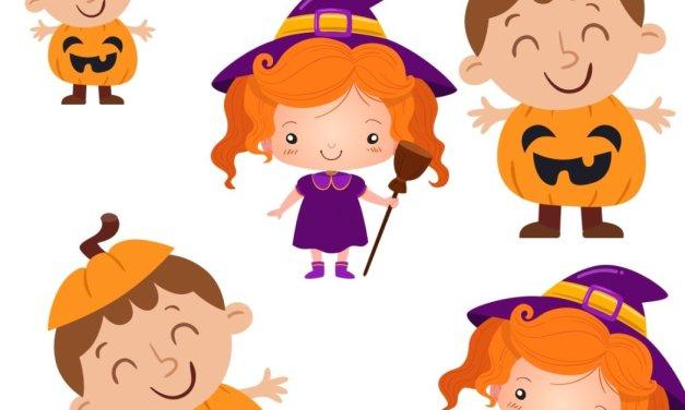 Halloween: Bystre oczko (10 kart pracy)