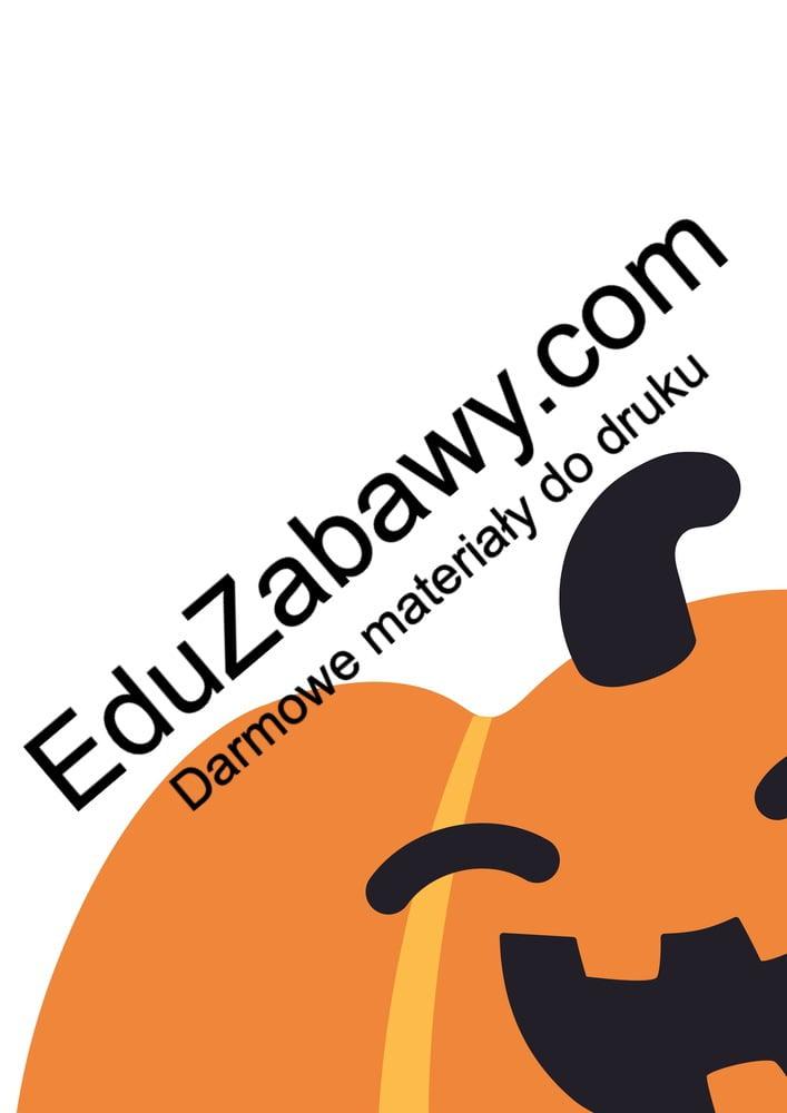 Halloween: Dekoracje XXL (10 szablonów) Dekoracje Dekoracje (Halloween) Święto Dyni / Halloween