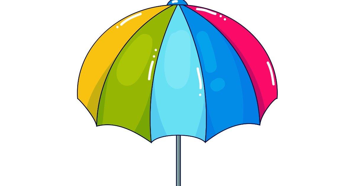 Dekoracje: Parasolki (12 szablonów)