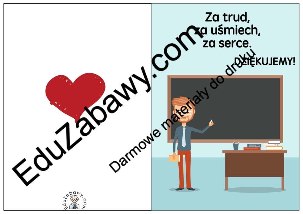 """Laurki """"Dziękujemy"""" Dzień Edukacji Narodowej Laurki (Dzień Edukacji Narodowej)"""
