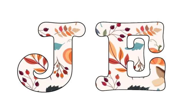 Napis Jesień – Dary jesieni