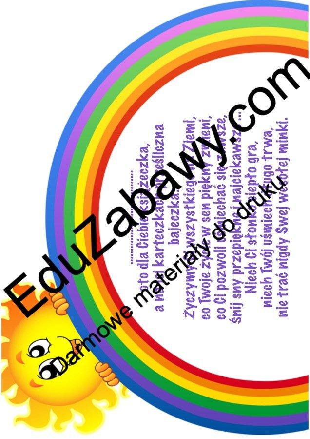 Uniwersalne dedykacje dla dzieci Okolicznościowe Wkładki i dedykacje Wkładki i dedykacje (Pożegnanie przedszkola) Wkładki i dedykacje (Zakończenie roku)