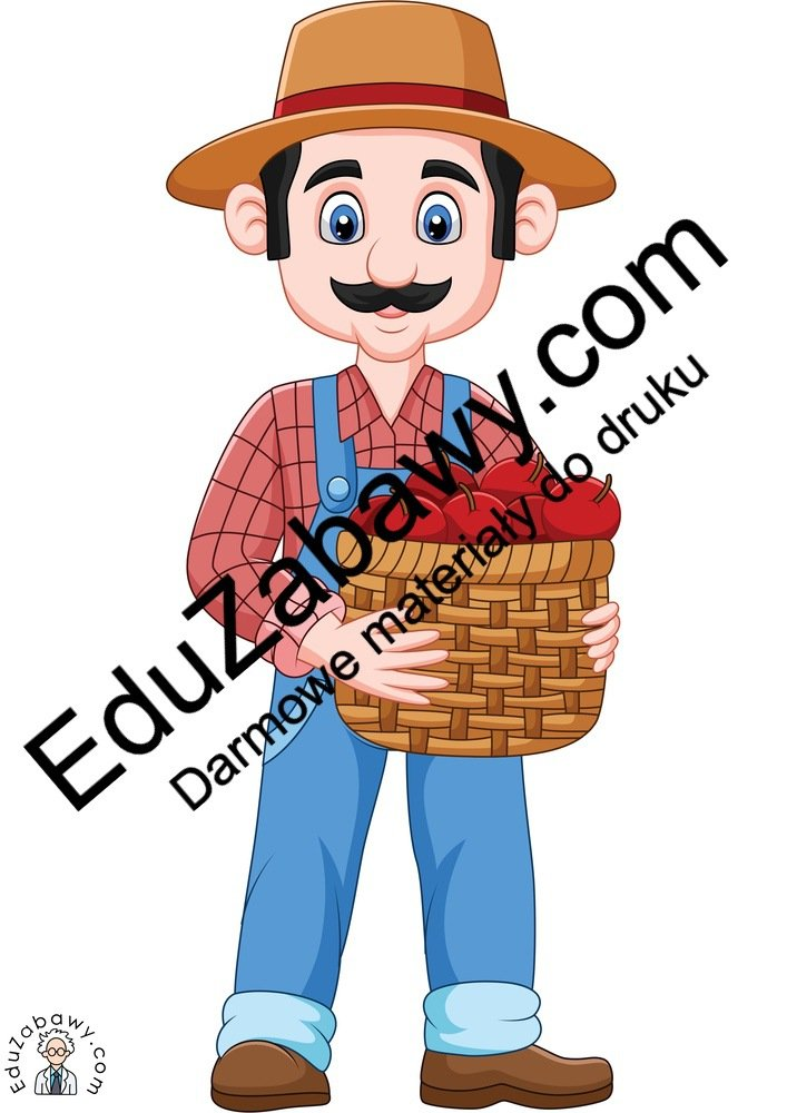 Dekoracje: Koszyk z owocami i warzywami (7 szablonów) Dekoracje Dekoracje (Dzień Marchewki) Dekoracje (Jesień)