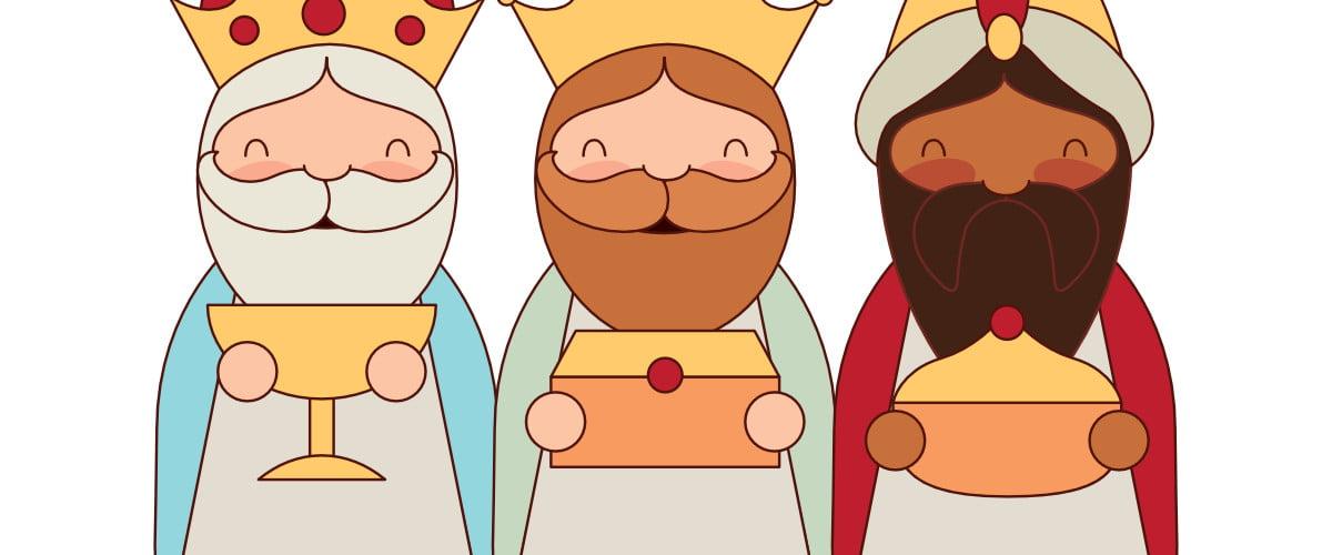 Dekoracje: Trzech króli