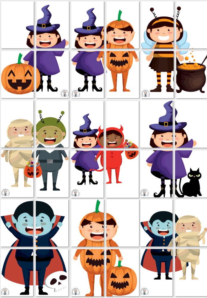 Dekoracje XXL: Przebrane dzieci Dekoracje Dekoracje (Halloween) Dekoracje (Karnawał) Karnawał Święto Dyni / Halloween