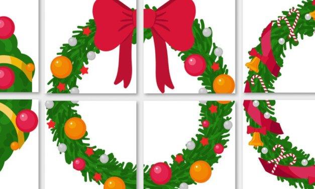 Dekoracje XXL: Stroik świąteczny