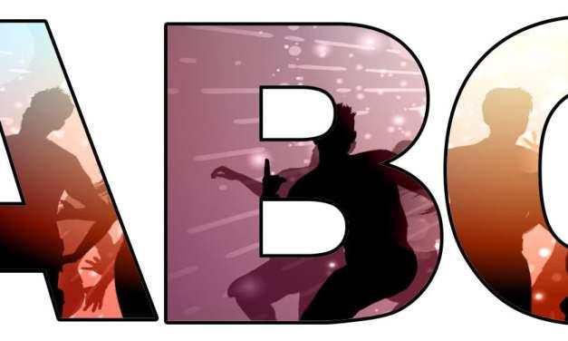 Taniec: litery duże