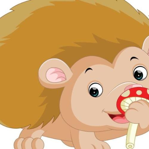 Jeż z odbitych rączek Aneta Grądzka-Rudziak Prace plastyczne Prace plastyczne (Dzień Jeża) Prace plastyczne (Na wsi) Zwierzęta (Prace plastyczne)