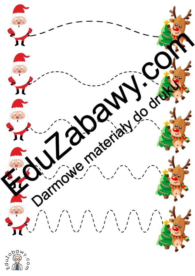 Boże Narodzenie: Szlaczki (10 szablonów) Boże Narodzenie Karty pracy Karty pracy (Boże Narodzenie) Karty pracy (Mikołajki) Mikołajki Szlaczki
