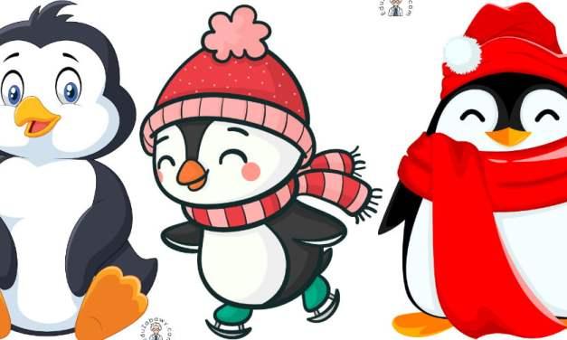 Dekoracje: Pingwiny