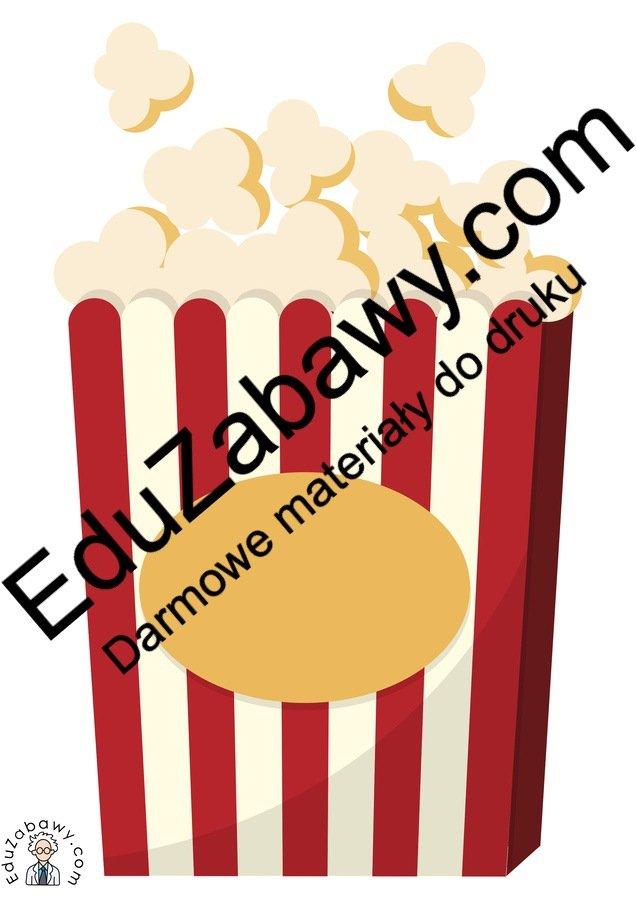 Dekoracje: Popcorn Dzień Popcornu Kalendarz świąt Styczeń