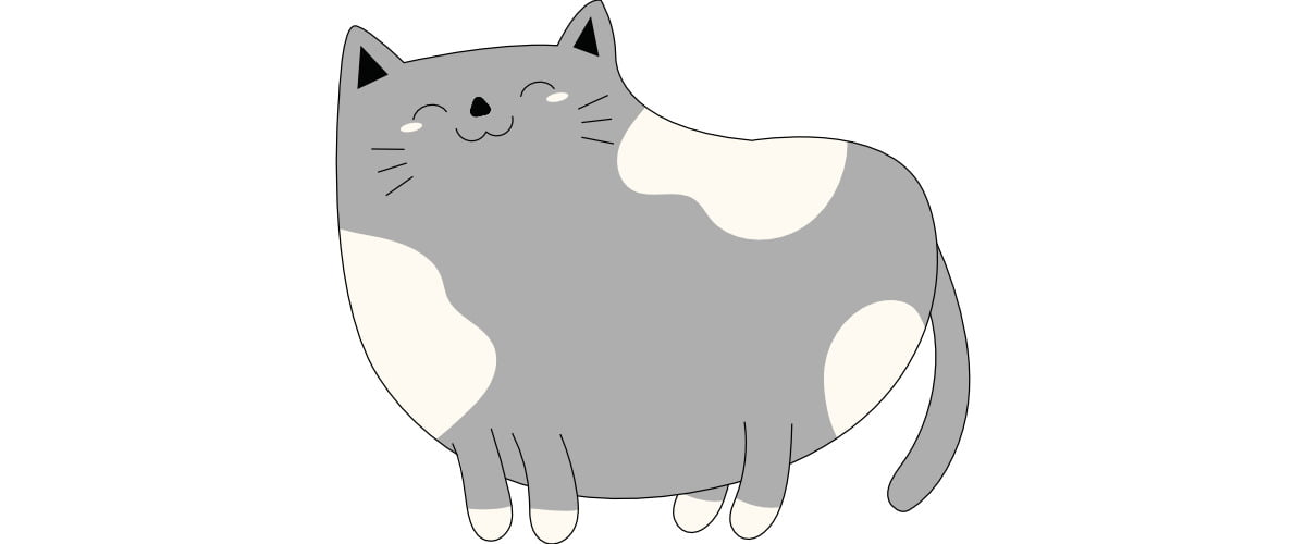 Dekoracje: Kot