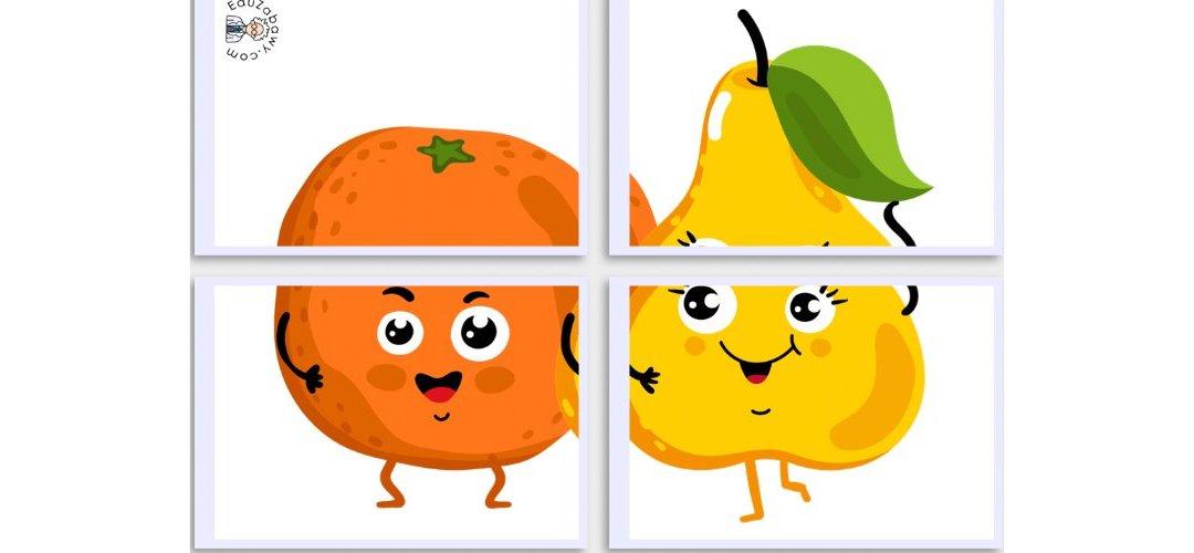Dekoracje XXL: Wesołe owoce i warzywa (10 szablonów)