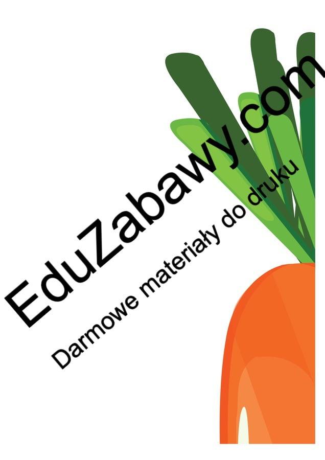 Dekoracje XXL: Wesołe owoce i warzywa (10 szablonów) Dekoracje Dekoracje (Dzień Marchewki) Dekoracje (Lato) Dzień Pozytywnego Myślenia