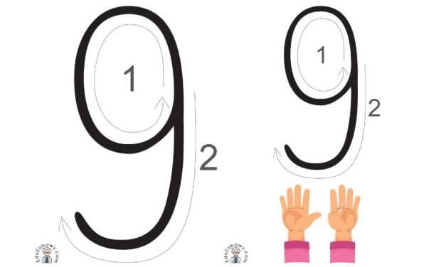 Wprowadzenie cyfry 9 – monografia