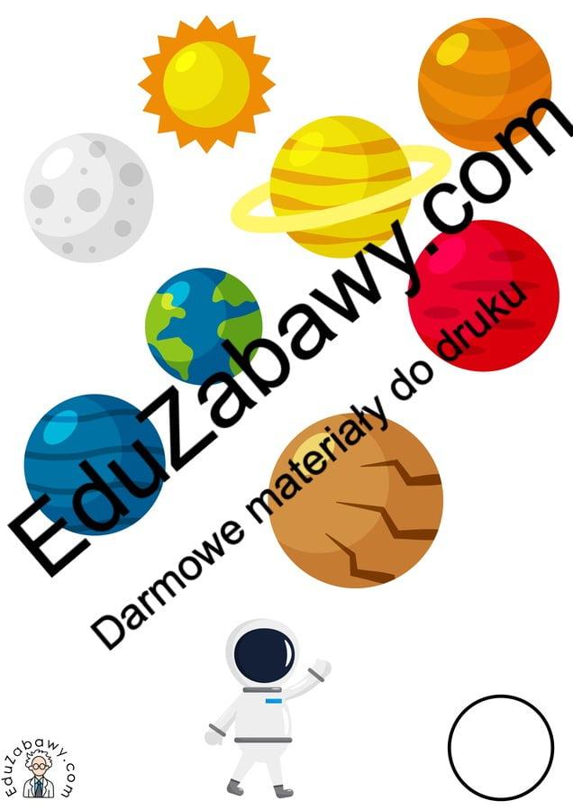 Kosmos: Nauka liczenia (10 kart pracy) Karty pracy Karty pracy (Dzień Astronomii) Nauka liczenia