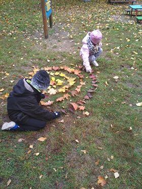 Jesienna mandala Aneta Grądzka-Rudziak Jesień (Prace plastyczne) Prace plastyczne Prace plastyczne (Jesień)