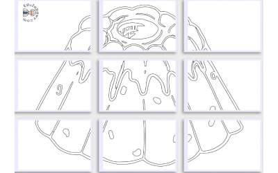Kolorowanki XXL: Babka Wielkanocna (10 szablonów)