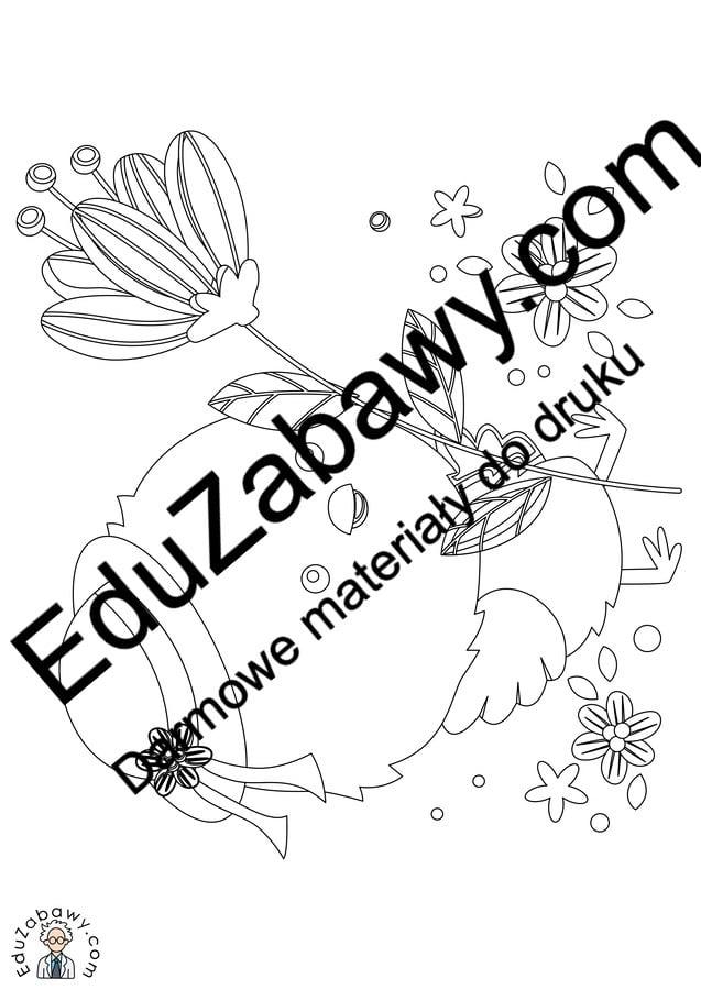 Kolorowanki: Kurczaczek wielkanocny (10 szablonów) Kolorowanki Kolorowanki (Wielkanoc) Okolicznościowe (Kolorowanki) Wielkanoc