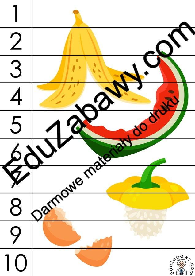 Dzień Ziemi: Puzzle 10 elementów (10 kart pracy) Karty pracy Karty pracy (Dzień Ziemi) Puzzle