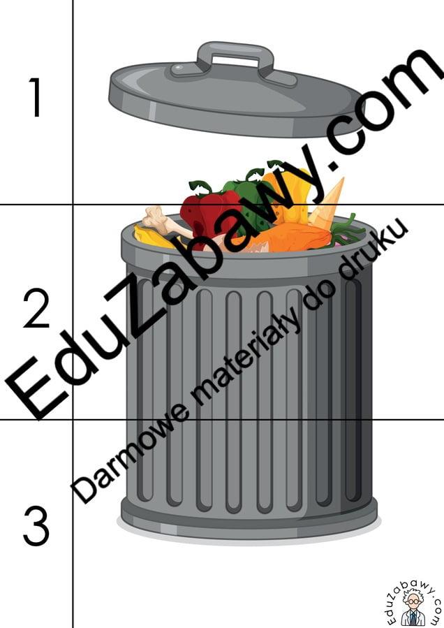 Dzień Ziemi: Puzzle 3 elementy (10 kart pracy) Dzień Ziemi Karty pracy Karty pracy (Dzień Ziemi) Puzzle