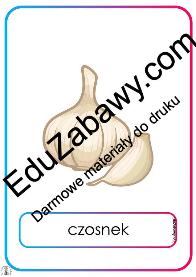 Plansze dydaktyczne: warzywa (21 plansz) Na wsi Plansze dydaktyczne Plansze dydaktyczne (Na wsi)