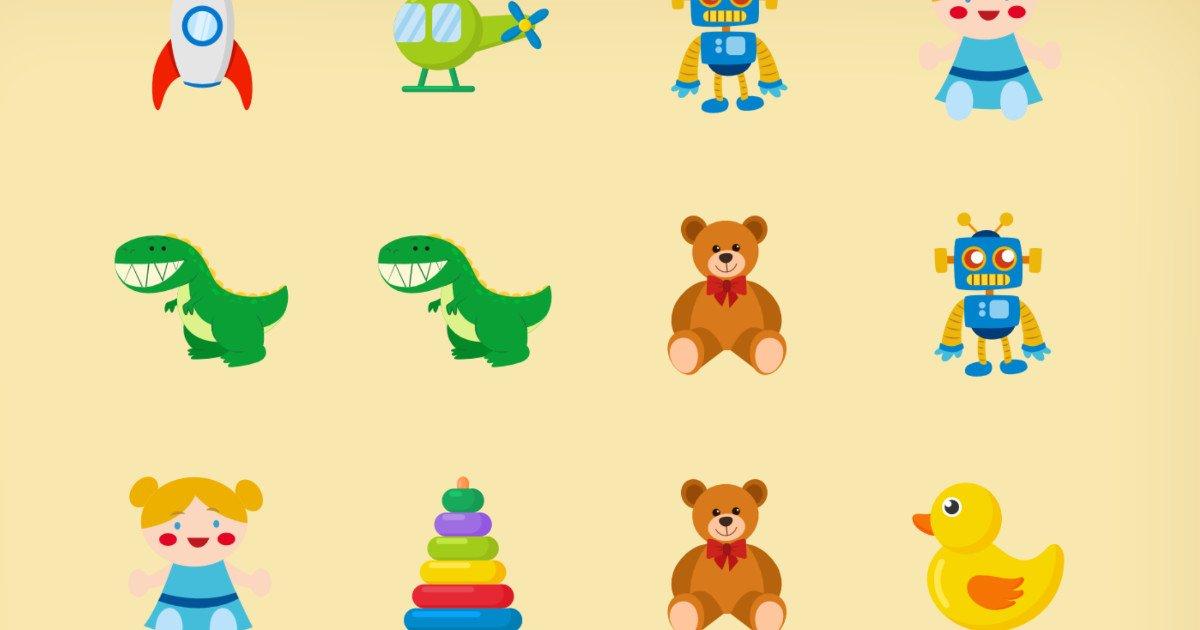 Gra online: Memory z zabawkami