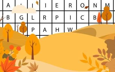 Wykreślanka online: Jesień