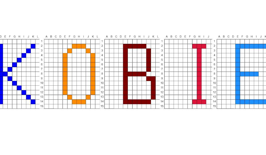 Kodowanie / Dyktando graficzne na Dzień Kobiet