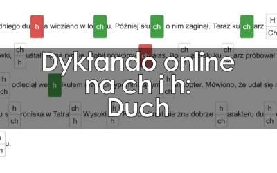 Dyktando: Duch