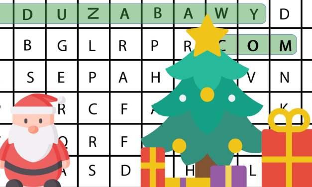 Wykreślanka online: Boże Narodzenie