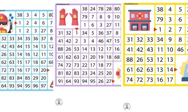 Labirynty matematyczne: Dzień Strażaka