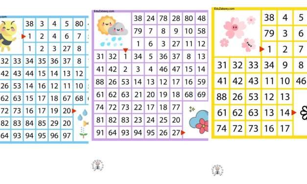 Labirynty matematyczne: Wiosna