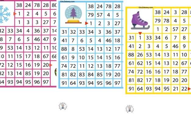 Labirynty matematyczne: Zima