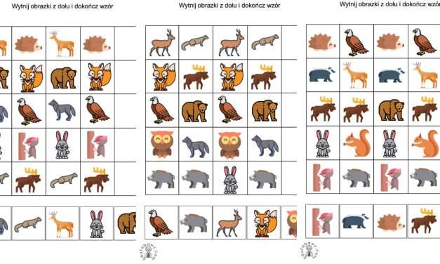 Sekwencje: Zwierzęta leśne