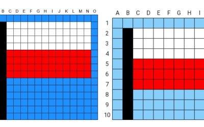 Kodowanie / Dyktando graficzne: Flaga