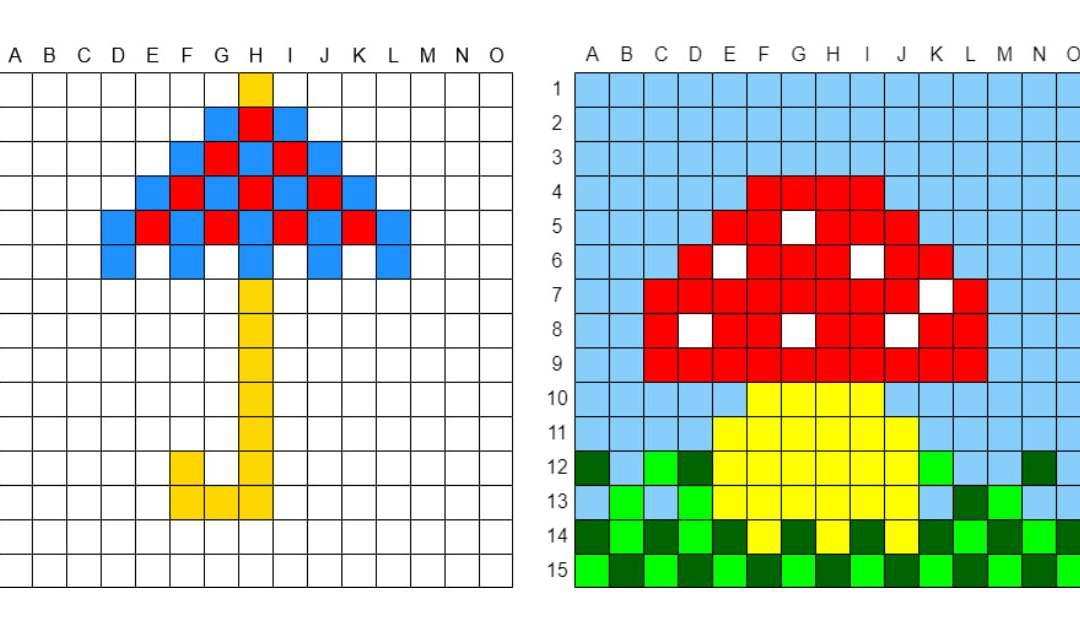 Kodowanie / Dyktando graficzne: Jesień