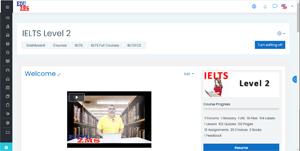 IELTS FC2 - Course Front Page