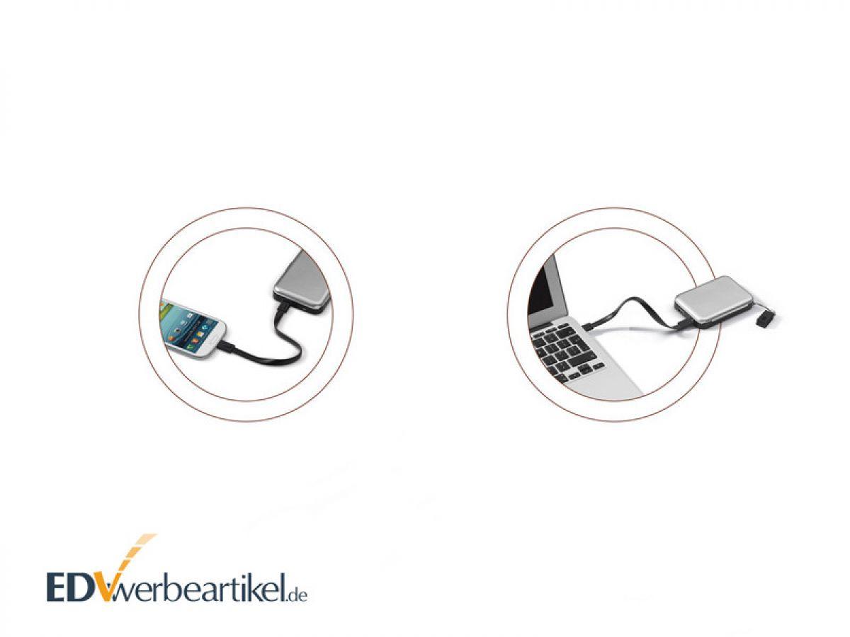 Rfid Kreditkartenbox Mit Powerbank Aluminium Als Werbegeschenk
