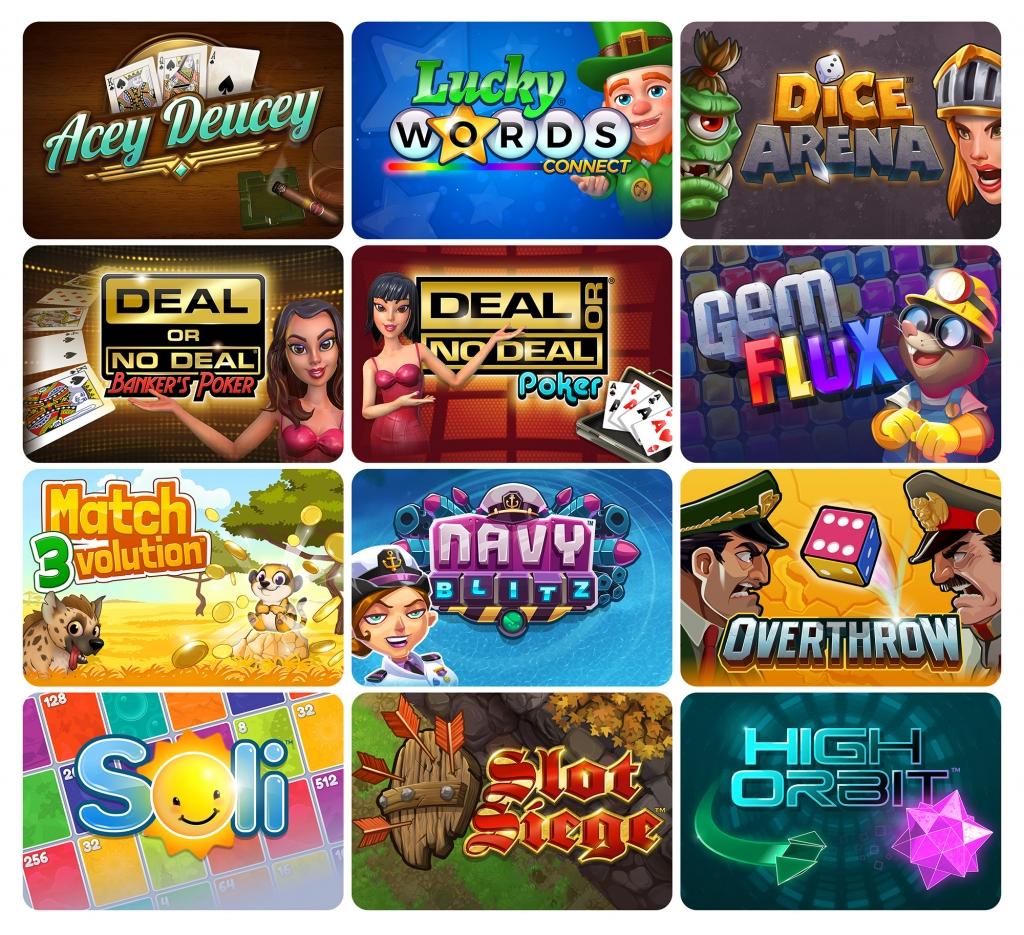Gamblit game icons