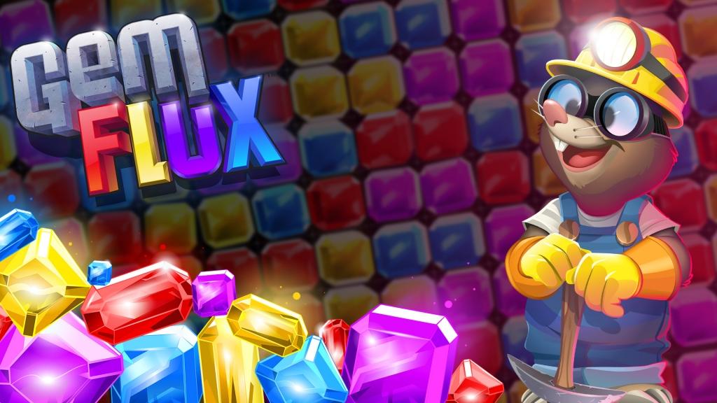 Gemflux promotional title