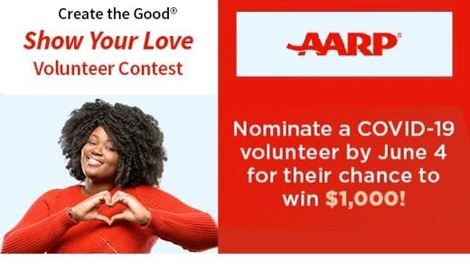 Show Your Love Volunteer Contest