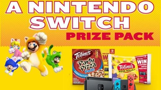 Totino's Free Nintendo Switch Giveaway