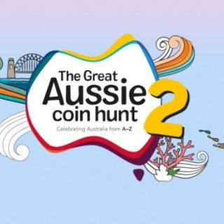 Aussie Coin Hunt 2 Treasure Map Competition
