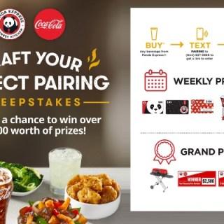 Coca-Cola Panda Express Craft Your Perfect Pairing Sweepstakes