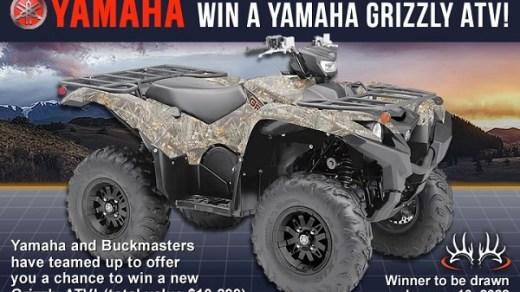 Buckmasters Yamaha Grizzly Giveaway