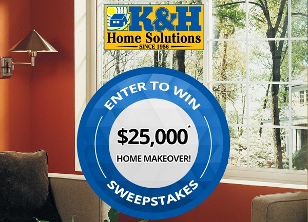 K&H Home Solutions Home Makeover Sweepstakes
