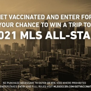 Get Vaccinated MLS All-Star Sweepstakes
