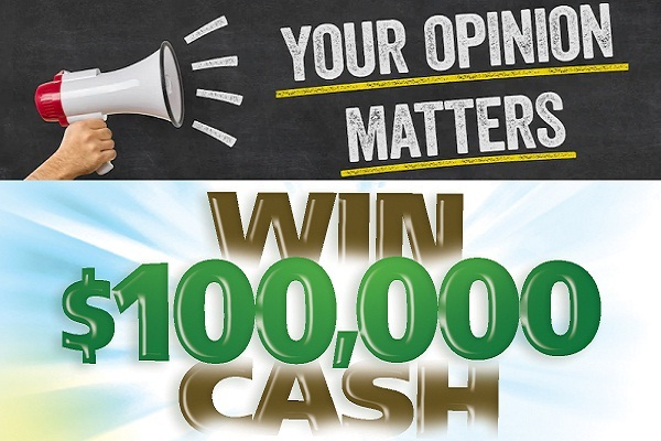 Opinion square Your Opinion Matters Sweepstakes