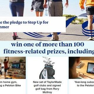 United Health Care Step Up for Summer Sweepstakes